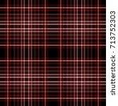 seamless tartan plaid pattern.... | Shutterstock .eps vector #713752303
