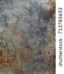 grunge wall texture | Shutterstock . vector #713783653