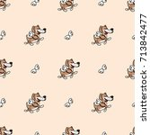 texture in cartoon style ...   Shutterstock .eps vector #713842477
