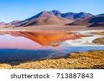 Laguna Colorada  Means Red Lak...
