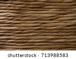 wicker texture and background.... | Shutterstock . vector #713988583
