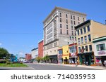 watertown  ny  usa   aug. 16 ... | Shutterstock . vector #714035953