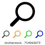find icon. vector illustration... | Shutterstock .eps vector #714063673