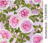 floral seamless pattern. flower ...   Shutterstock . vector #714185953