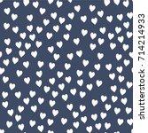 vector seamless pattern.... | Shutterstock .eps vector #714214933