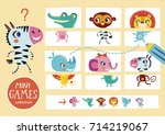 assemble the pictures. mini... | Shutterstock .eps vector #714219067