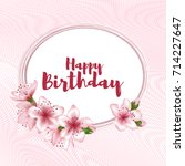 Holiday Oval Border  Birthday...