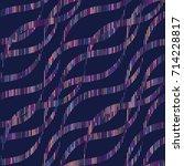 vector color wave pattern.... | Shutterstock .eps vector #714228817