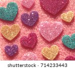 a heart pattern background...