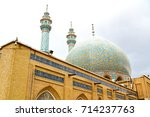 blur in iran  and old antique... | Shutterstock . vector #714237763