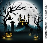 vector illustration of... | Shutterstock .eps vector #714335437