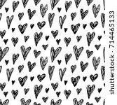 creative seamless pattern.... | Shutterstock .eps vector #714465133