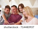 family with teenage children