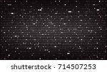 dark background with... | Shutterstock .eps vector #714507253