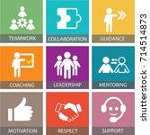 vector illustration. leadership ...   Shutterstock .eps vector #714514873
