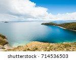island of sun  isla del sol  on ... | Shutterstock . vector #714536503
