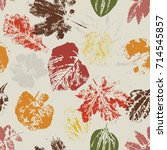 seamless pattern with stamp...