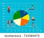 market segmentation infographic ... | Shutterstock .eps vector #714584473