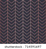 simple geometric pattern.... | Shutterstock .eps vector #714591697