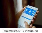 bangkok  thailand   september... | Shutterstock . vector #714600373