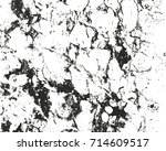 distressed overlay texture of... | Shutterstock .eps vector #714609517