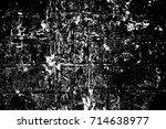 abstract grunge grey dark... | Shutterstock . vector #714638977
