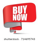 banner buy now | Shutterstock .eps vector #714695743