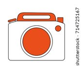 photographic camera icon image | Shutterstock .eps vector #714725167