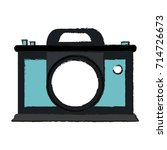 photographic camera icon image | Shutterstock .eps vector #714726673
