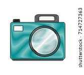photographic camera icon image | Shutterstock .eps vector #714727363