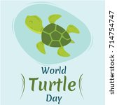 world turtle day  23 may. green ...