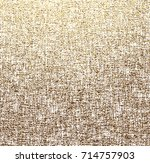 vector gold fabric background.... | Shutterstock .eps vector #714757903