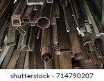 cable protection pipes  ready... | Shutterstock . vector #714790207