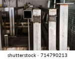 cable protection pipes  ready... | Shutterstock . vector #714790213
