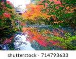 nanzenji temple autumn clolor ...   Shutterstock . vector #714793633