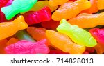 candy background.  colorful... | Shutterstock . vector #714828013