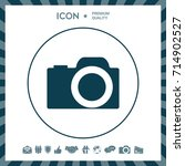 camera icon | Shutterstock .eps vector #714902527