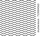 simply wave seamless pattern.... | Shutterstock .eps vector #715004563