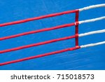 part of the boxing ring | Shutterstock . vector #715018573