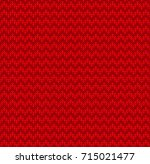 winter christmas x mas knit... | Shutterstock . vector #715021477