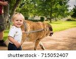 praha  cz   july 2  2017  a... | Shutterstock . vector #715052407
