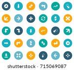 vector illustration set of...   Shutterstock .eps vector #715069087