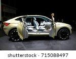 frankfurt  germany   sep 13 ... | Shutterstock . vector #715088497