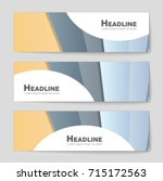 abstract vector layout... | Shutterstock .eps vector #715172563