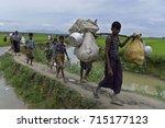 coz's bazer  bangladesh  ... | Shutterstock . vector #715177123