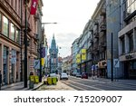 prague  czech republic   july... | Shutterstock . vector #715209007