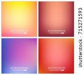 abstract creative concept... | Shutterstock .eps vector #715271593