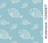 fish pattern | Shutterstock .eps vector #715302877