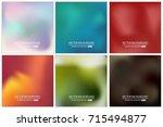 abstract creative concept... | Shutterstock .eps vector #715494877