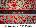 graphic web template. eps 10 | Shutterstock .eps vector #71550640